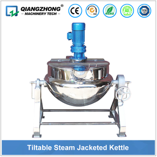 Tiltable Steam Heating Jacketed Kettle