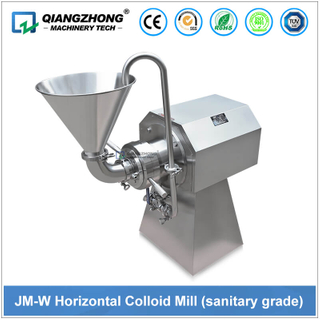 JM-W Horizontal Colloid Mill (sanitary grade)