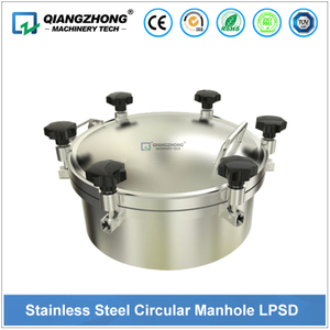 Stainless Steel Circular Manhole LPSD