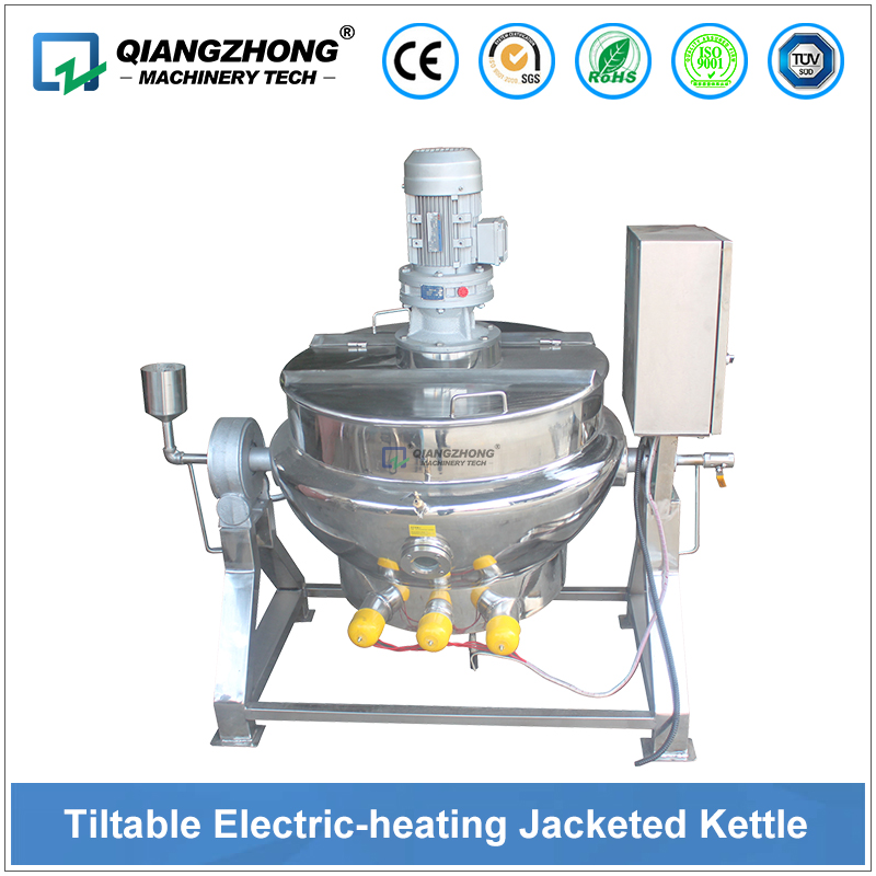 Tiltable Electric Heating Jacketed Kettle